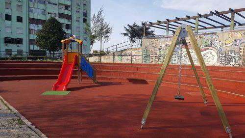 area giochi parco verde caivano
