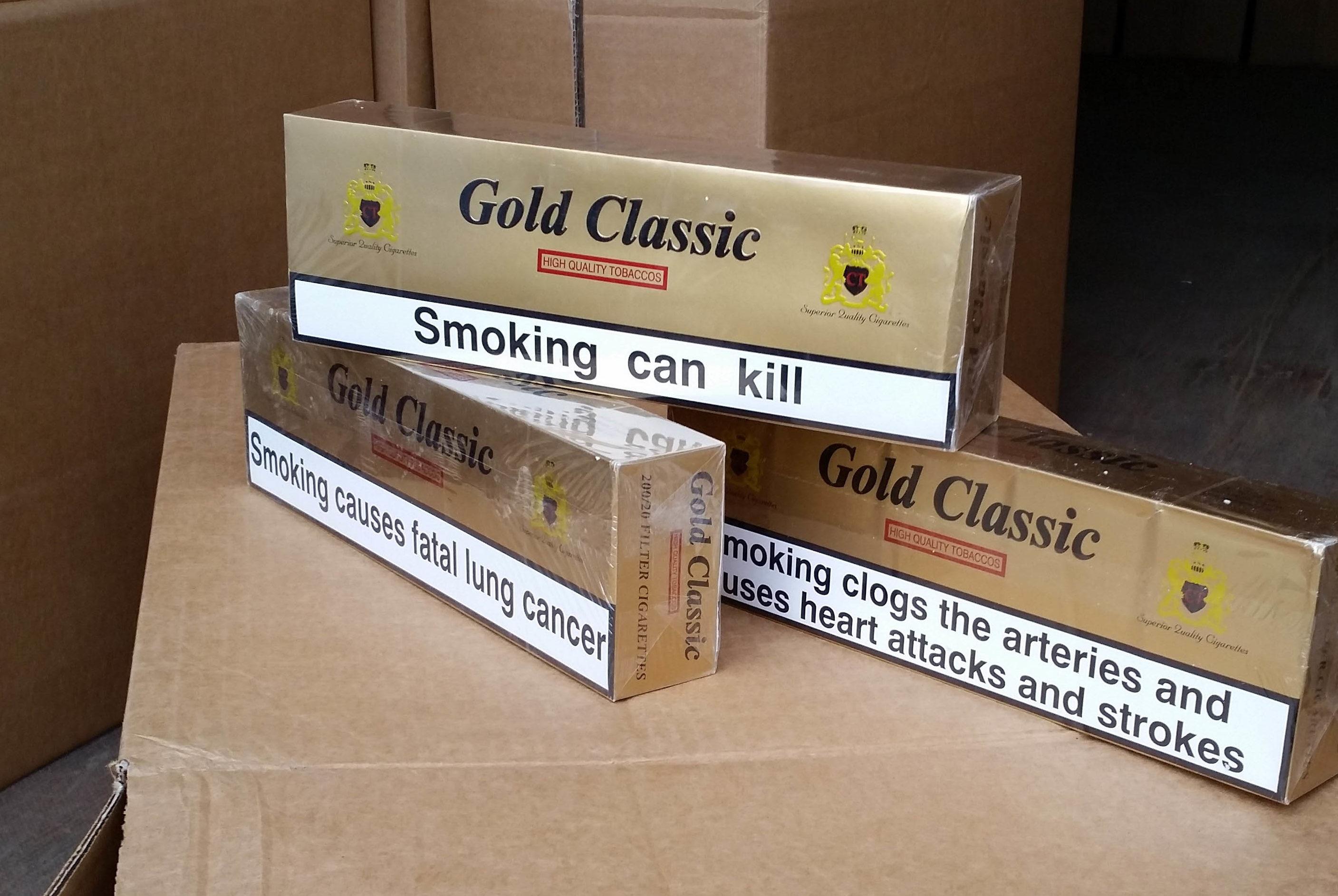 tonnellate di sigarette di contrabbando 1
