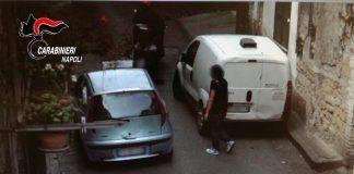 carabinieri cacciavite rapina napoli