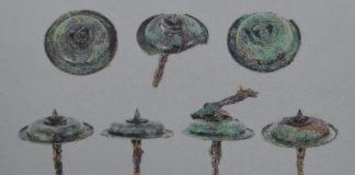 borchie scavi di pompei