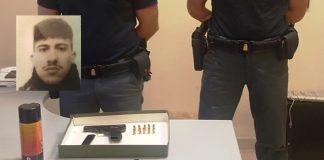 buonerba pistola polizia