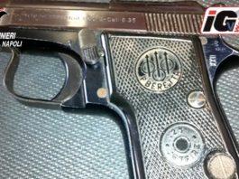 droga pistola napoli pomigliano