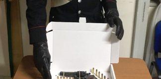 pompei revolver carabinieri