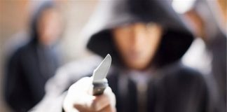 rapina coltello ercolano
