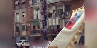 rione traiano processione boss madonna
