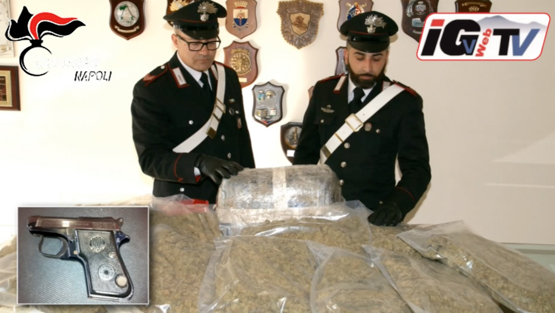 Traffico di droga da napoli alla provincia blitz dei - Droga dei sali da bagno ...