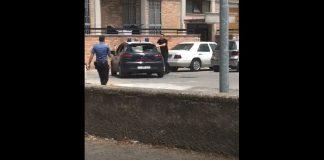 torre annunziata distrutta auto carabinieri