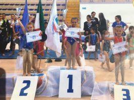 Piccole atlete Gymnasium Scafati