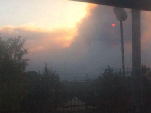 incendi vesuvio fumo 12 luglio 2017