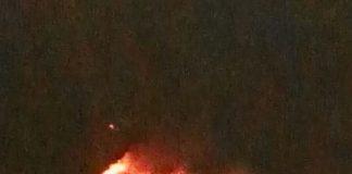 caprile in fiamme