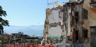 crollo palazzina torre annunziata