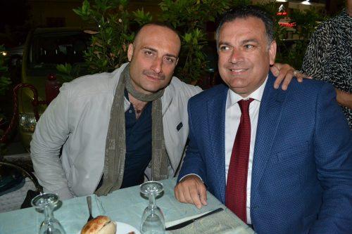 Antonio Grilletto con Cristiano di Maio