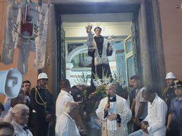 Festa dei Gigli Conclusione Processione di Sant'Antonio - Brusciano 23.8.2017