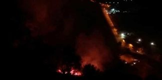 Incendio Posillipo