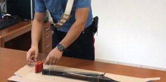 doppietta a canne mozze carabinieri