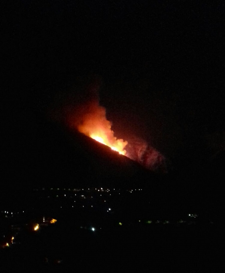incendio lattari