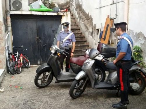 scooter rubati