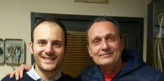 Serafino Ambrosio con Giuseppe Caputo