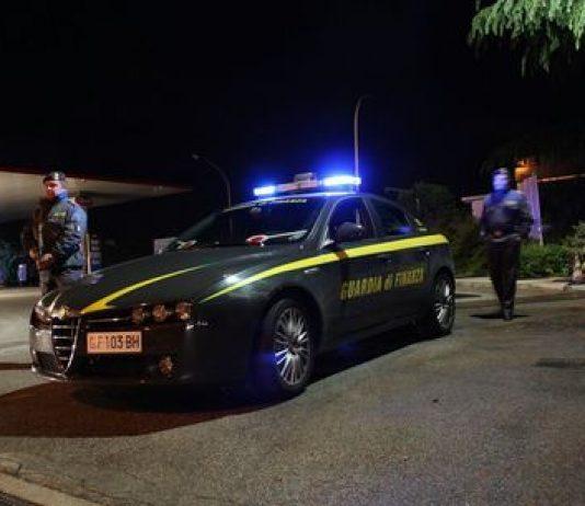 guardia di finanza massa lubrense notte sorrento droga armi