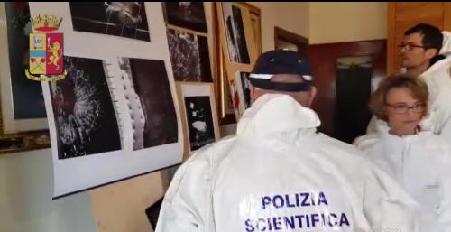 polizia scientifica omicidio veropalumbo carmela sermino torre annunziata