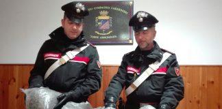 carabinieri droga marijuana cocaina torre annunziata