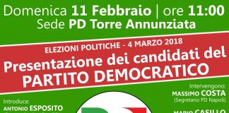 elezioni candidati torre annunziata politiche partito democratico pd