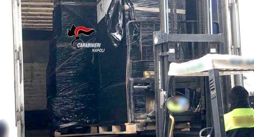 Sequestrati oltre 1700 chili di sigarette nel Napoletano: un arresto