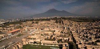 scavi pompei panorama