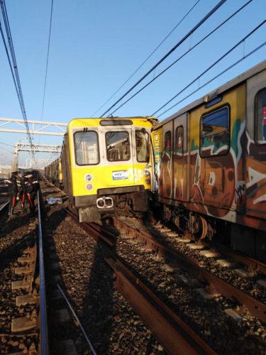 incidente ferroviario napoli