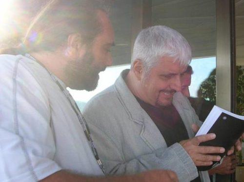 con Pino Daniele libro