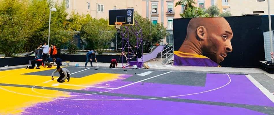 Napoli onora Kobe Bryant