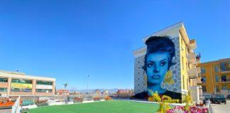 gragnano murale donna sophia