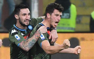 demme primo gol con il Napoli