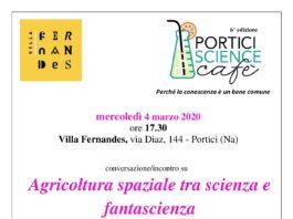 Portici Science Cafè locandina