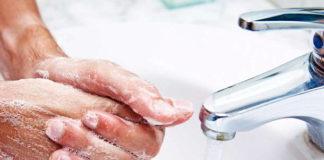 lavare mani coronavirus