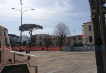 lavori pompei, piazza schettini