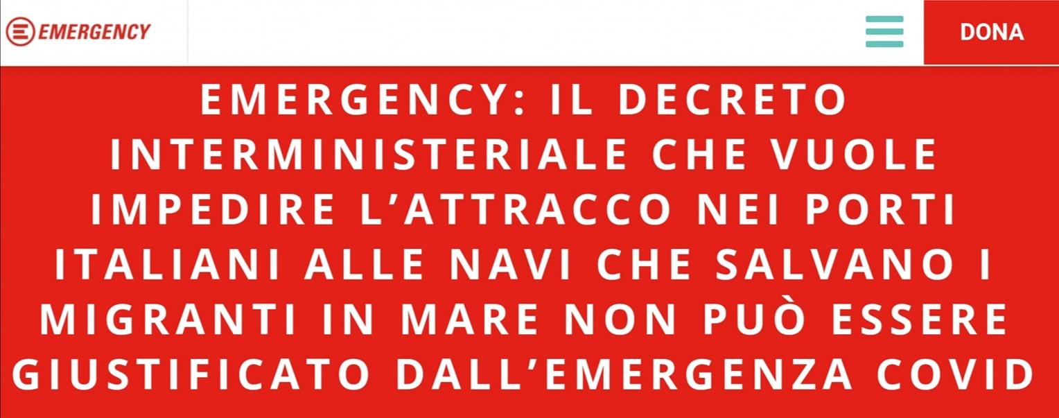 emergency decreto 7 aprile 2020