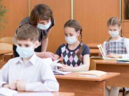 mascherine a scuola no