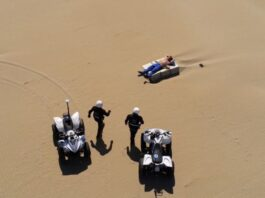 controlli spiaggia virus