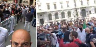 paragone milano protesta ambulanti