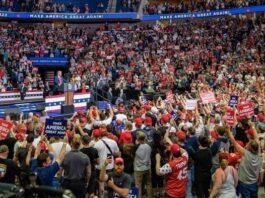 campagna elettorale Trump Oklahoma