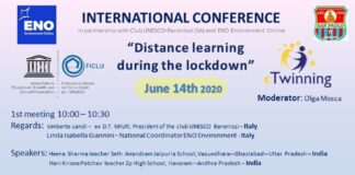 distance learning during lockdown - meeting 14 giugno