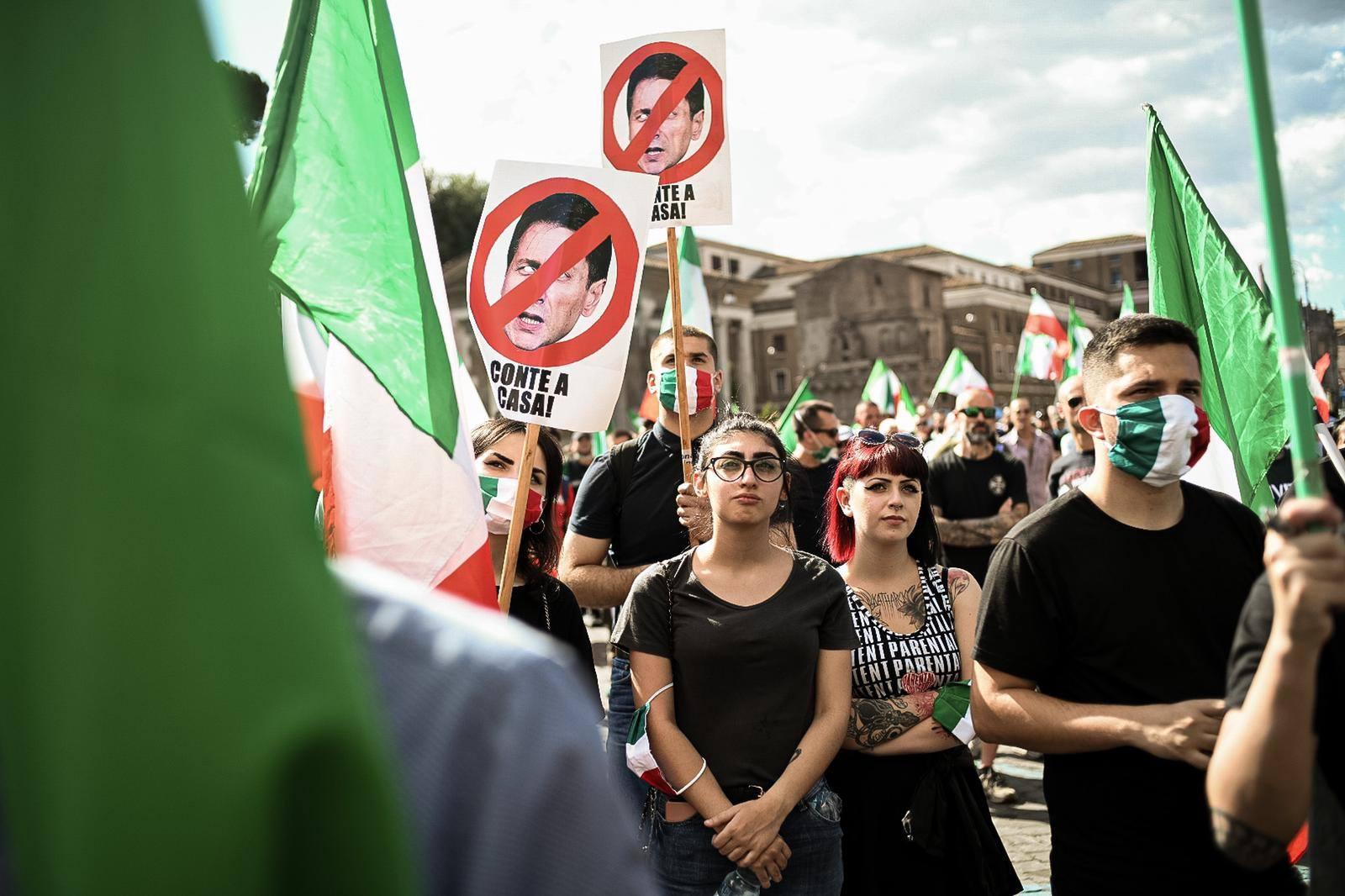 tricolori roma manifestazione