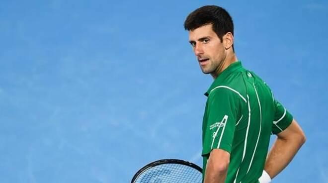 novak tennis virus
