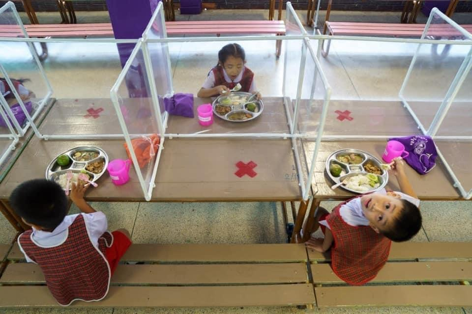 Wat Khlong Toey School di Bangkok, Thailandia