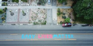 baby lives matter murales Tayler Hansen