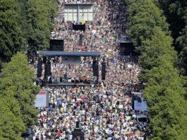 berlino proteste virus pandemia