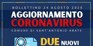 sant'antonio abate coronavirus 24 agosto 2020