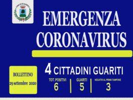 agerola coronavirus 29 settembre 2020