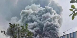 incendio laboratorio ricerca e sviluppo Huawai